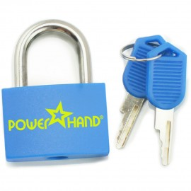 Powerhand blue padlock