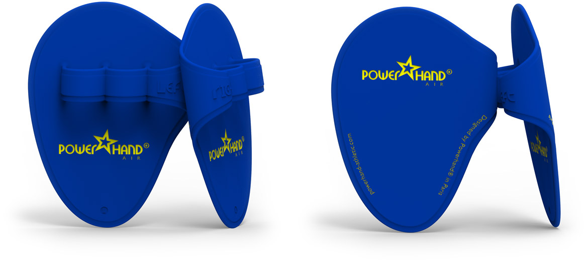 powerhand air dark blue pairs on white background
